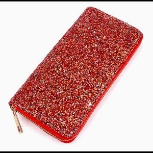 Riah Fashion | Glitter wallet